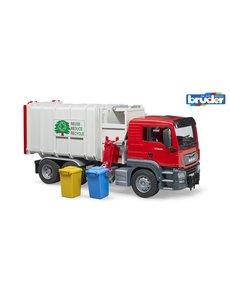 Bruder 3761 - MAN TGS vuilniswagen zijlader