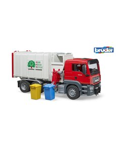 MAN TGS vuilniswagen zijlader