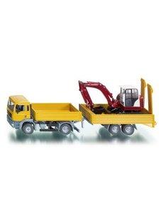 sk 3920 - Minikraan transporter met Schaeff minigraver