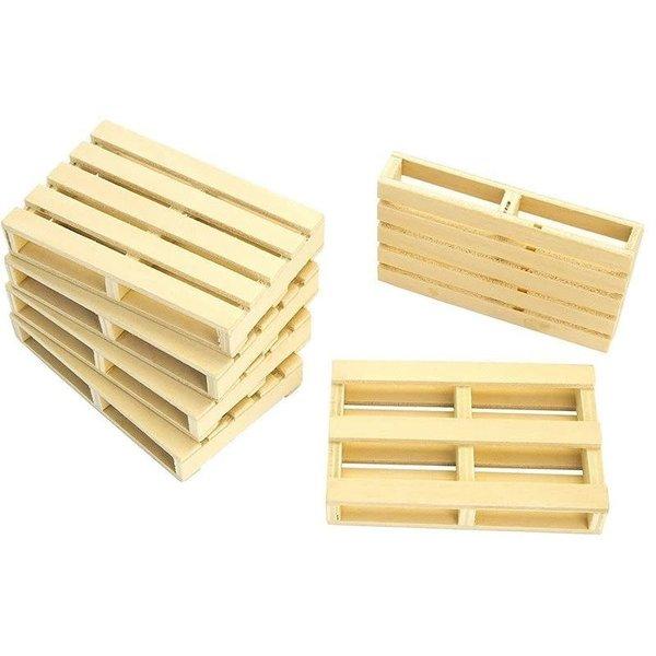 Houten pallets (8 stuks) 1:32 - KG610761