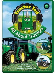 Tractor Ted DVD - Alles over Tractors (engelstalig)