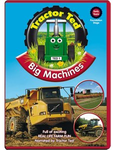 Tractor Ted DVD - Grote Machines (engelstalig)