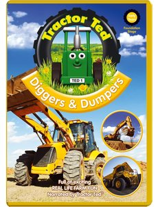 Tractor Ted DVD - Diggers & Dumpers (engelstalig)