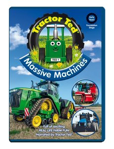 Tractor Ted DVD - Massive Machines (engelstalig)