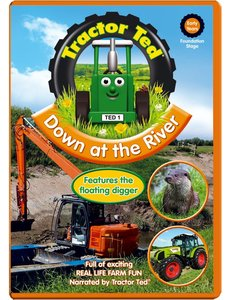 Tractor Ted DVD - Down at the River (engelstalig)