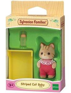 Sylvanian Families Baby gestreepte kat