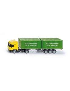 Siku sk 3921 - Vrachtwagen met container