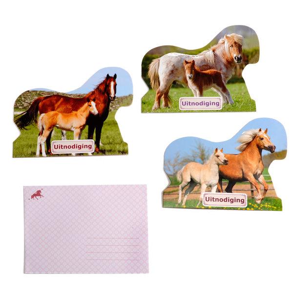 Depesche Horses Dreams uitnodigingskaarten (10 st.)