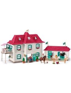 Schleich Groot woonhuis met stallen - 42416