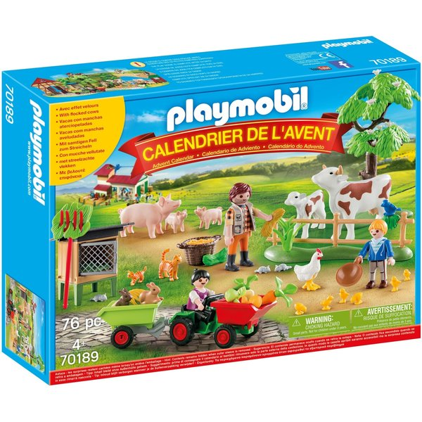 Playmobil Adventskalender Op de Boerderij