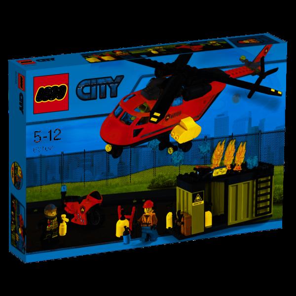 LEGO 60108 - Brandweer inzetgroep