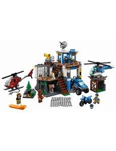 LEGO Politiekantoor op de berg