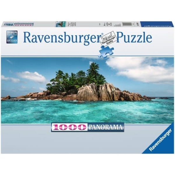Ravensburger Aan vakantie toe op Ile st. Pierre