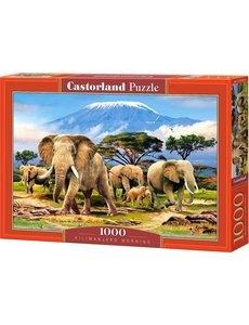 Castorland Kilimanjaro morning 1000 stukjes