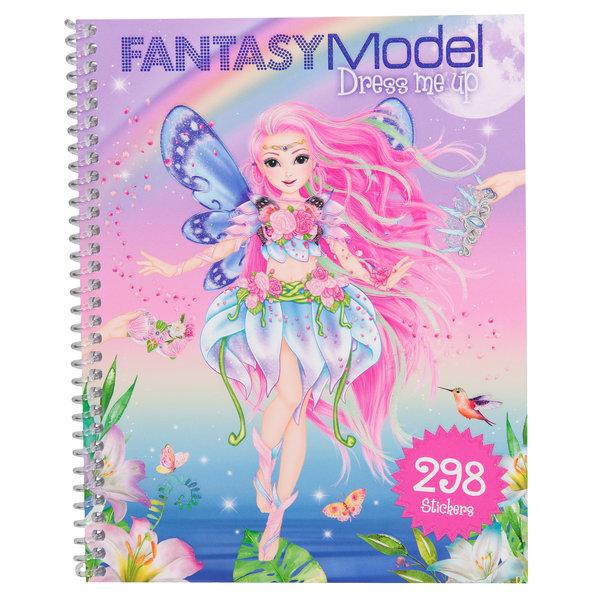 Depesche Fantasy Model Dress Me Up stickerboek