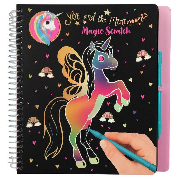 Depesche Ylvi & the Minimoomis Magic Scratch kleurboek