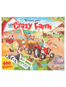 Depesche Create your Crazy Farm stickerboek