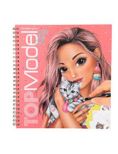 Depesche TOPModel Create your Kitty kleurboek