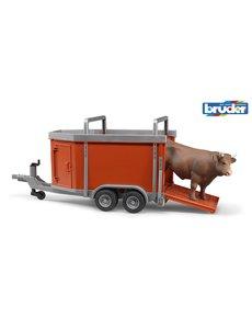 2029 - Veeaanhanger met koe
