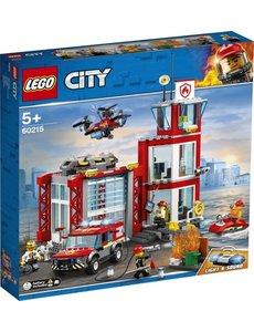 LEGO 60215 - Brandweerkazerne