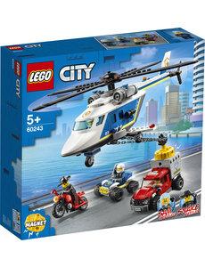 LEGO 60243 - Politiehelikopter achtervolging
