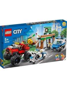 LEGO Politiemonstertruck overval - 60245