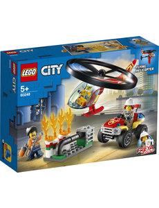 LEGO 60248 - Brandweerhelikopter reddingsoperatie