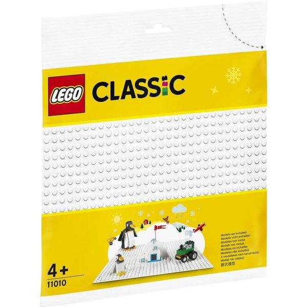 LEGO 11010 - Witte bouwplaat