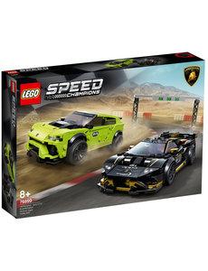 LEGO 76899 - Lamborghini Huracan Super Trofeo EVO vs Urus ST-X - LE76899