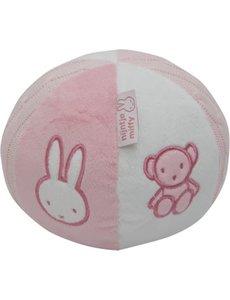 Nijntje roze zachte bal