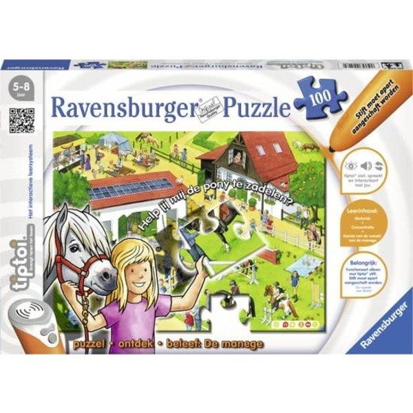 Ravensburger Tiptoi puzzel De Manege