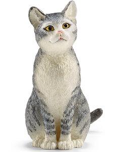 Schleich Kat, zittend - 13771