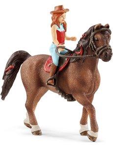 Schleich Horse club Hannah en Cayenne - 42514