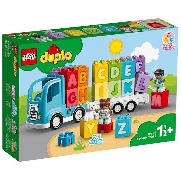 LEGO 10915 - Alfabet vrachtwagen