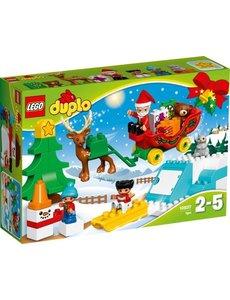 LEGO 10837 - Wintervakantie van de kerstman