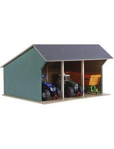 Kids Globe Grote tractor loods / kapschuur 1:32 - KG610193