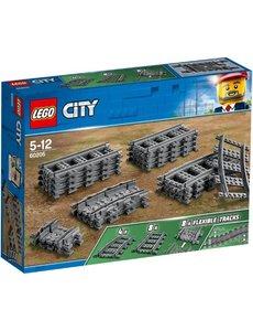 LEGO 60205 - Flexibele rails
