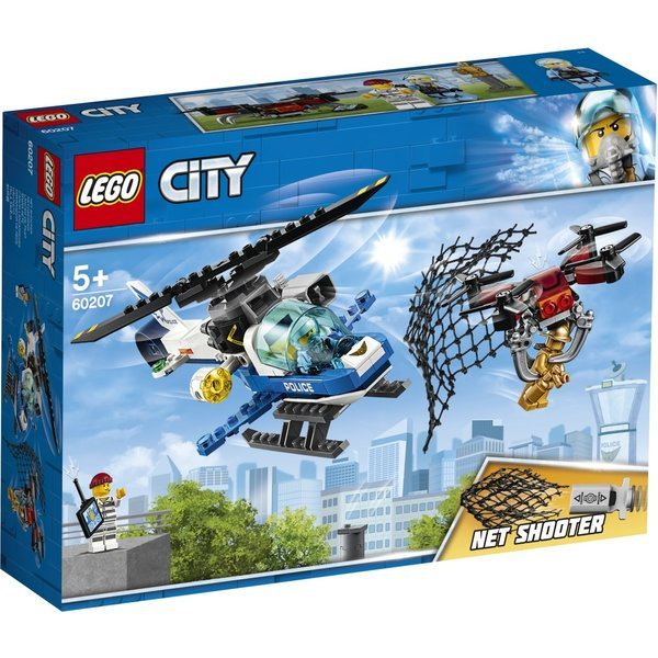 LEGO 60207 - Luchtpolitie drone-achtervolging