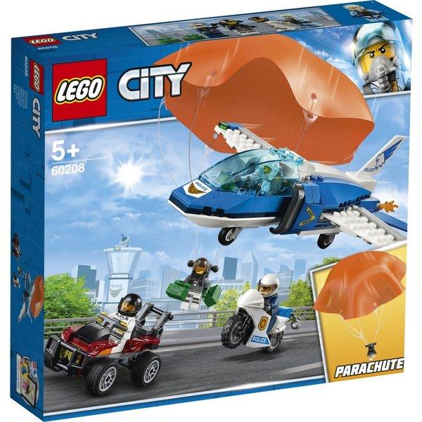 LEGO 60208 - Luchtpolitie parachute-arrestatie