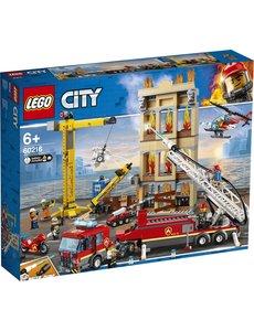 LEGO 60216 - Brandweerkazerne in de stad