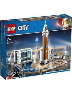 LEGO 60228 - Ruimteraket en vluchtleiding