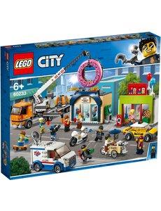 LEGO 60233 - Opening donutwinkel