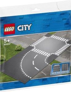 LEGO Bocht en kruising - 60237