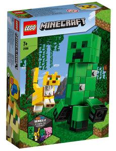 LEGO BigFig Creeper en Ocelot - LE21156