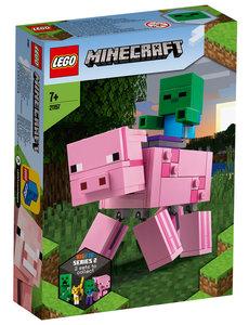LEGO BigFig Varken met baby Zombie - LE21157