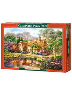 Castorland Twilight at wooden pond 3000 stukjes