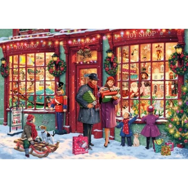 Gibsons Christmas Toy shop - 1000 st.