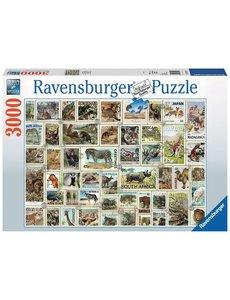 Ravensburger Dierenpostzegels 3000 stukjes