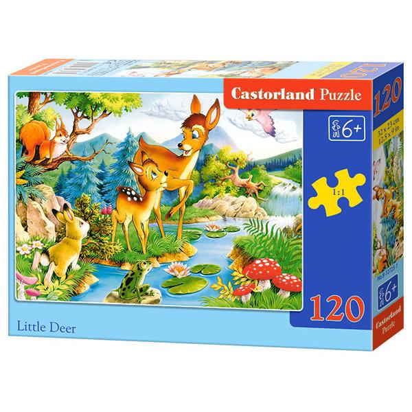 Castorland Kleine hertjes aan de beek 120 stukjes