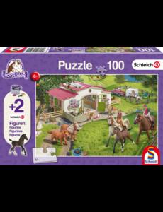 Schmidt Schleich Horse club puzzel 100 stukjes